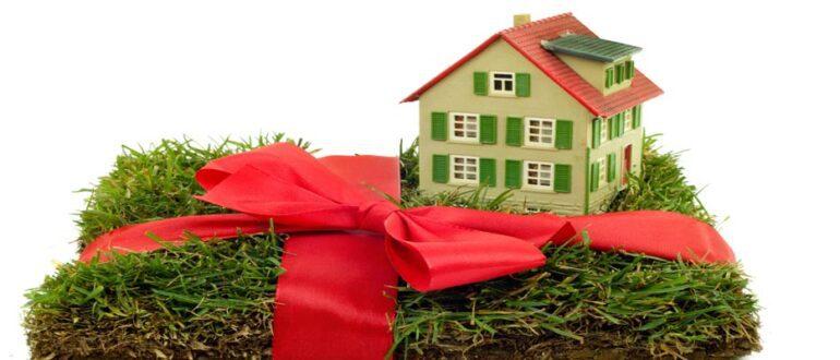Как оформить дарственную на дом и землю
